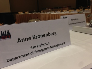 Anne Kronenberg's Name Tag at the BCEM Conference