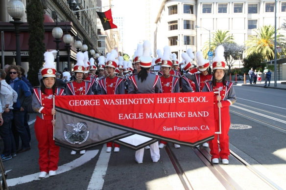 The 1906 San Francisco Earthquake and Fire Commemoration activities kick-off with a parade along