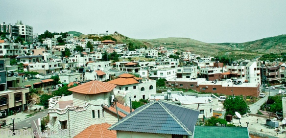 City of Haifa's rooftops