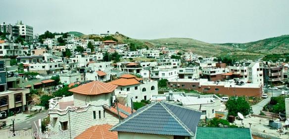 City of Haifa's rooftops