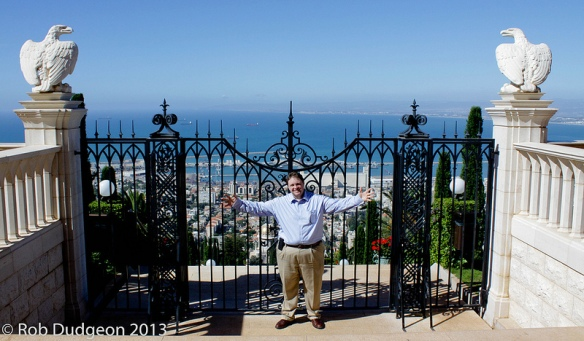 DEM Deputy Director and author of this EM4SF Blog, Rob Dudgeon feeling Haifa's resilience.